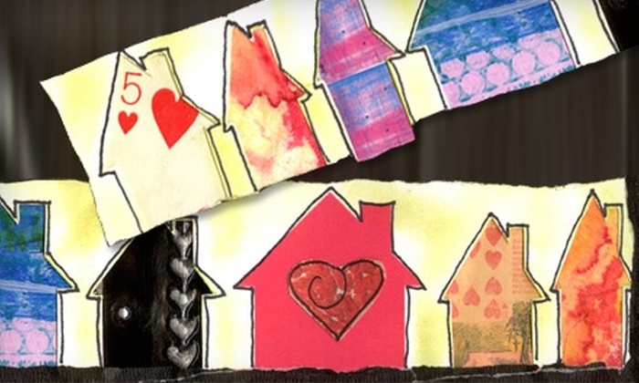 A Work of Heart - Willow Glen: $10 for Three Hours of Art-Studio Time at A Work of Heart