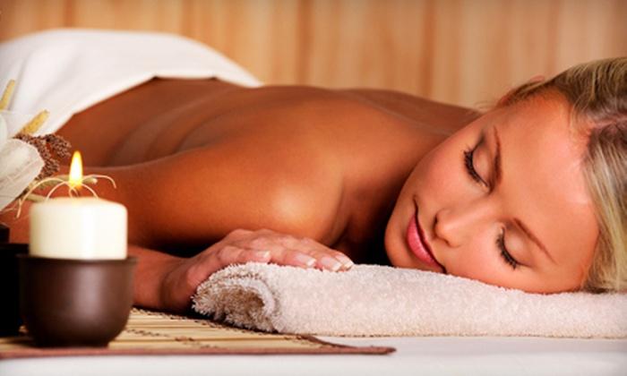 Jathar Salon and Spa - Waltham: Massage, Massage and Facial, or Massage, Facial, and Mani-Pedi at Jathar Salon and Spa in Waltham (Up to 57% Off)