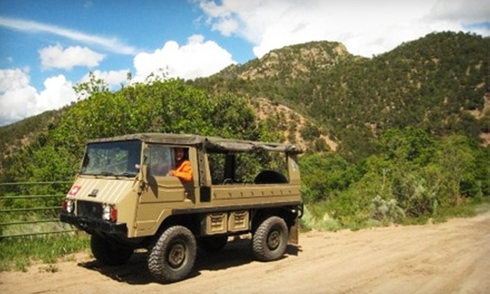 Santa Fe Walkabouts - Downtown Santa Fe: $60 for Off-Road Tour for Two from Santa Fe Walkabouts (Up to $194 Value)