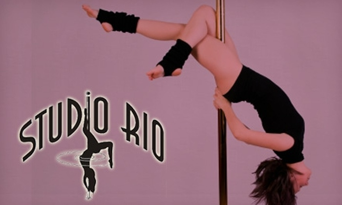 Studio Rio - North Central: $35 for a 10-Class Punch Card for Pole or Drop-In Fitness Classes from Studio Rio ($200 Value)