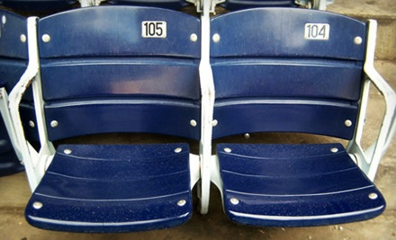 1 Authentic Texas Stadium Seat (a $200 value) - The Cowboy House in