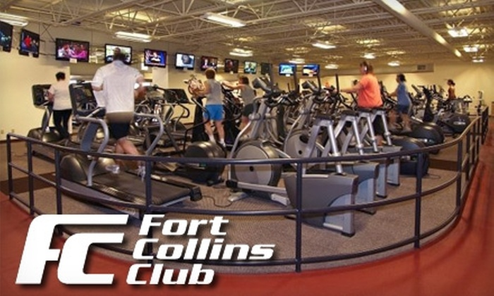Fort Collins Club - Fort Collins: Gym Membership at the Fort Collins Club. Choose from Three Options.