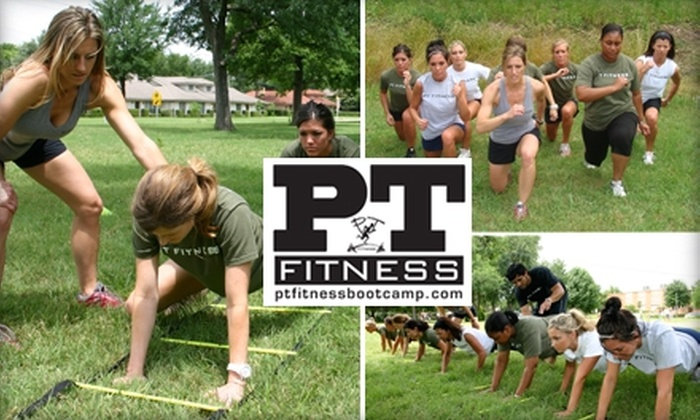 PT Fitness - Multiple Locations: $50 for One Month of Boot Camp at PT Fitness ($179 Value)