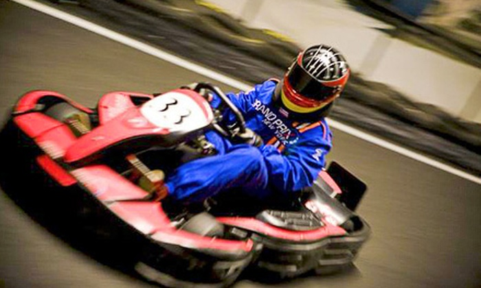 Grand Prix New York - Valhalla: Go-Karting and Gaming Package with Two Races for a Child, Teen, or Adult at Grand Prix New York (Up to 57% Off)