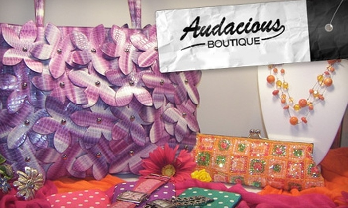 Audacious Boutique - Dublin: $25 for $50 Worth of Accessories at Audacious Boutique