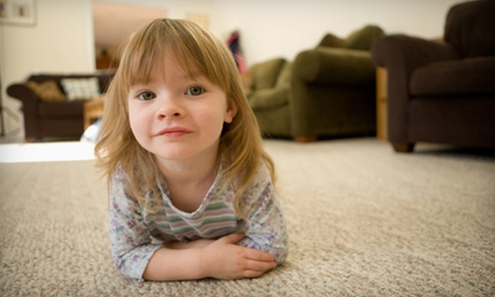 Nature's Way Carpet Cleaning - Newport: $65 for Three Rooms of Carpet Cleaning from Nature's Way Carpet Cleaning (Up to $180 Value)