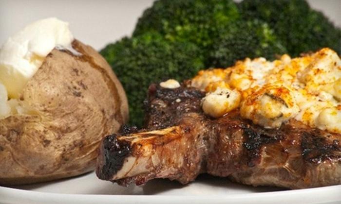 The Riverstone Grill - Grandyle Village: $10 for $20 Worth of Upscale Dining and Drinks at The Riverstone Grill on Grand Island