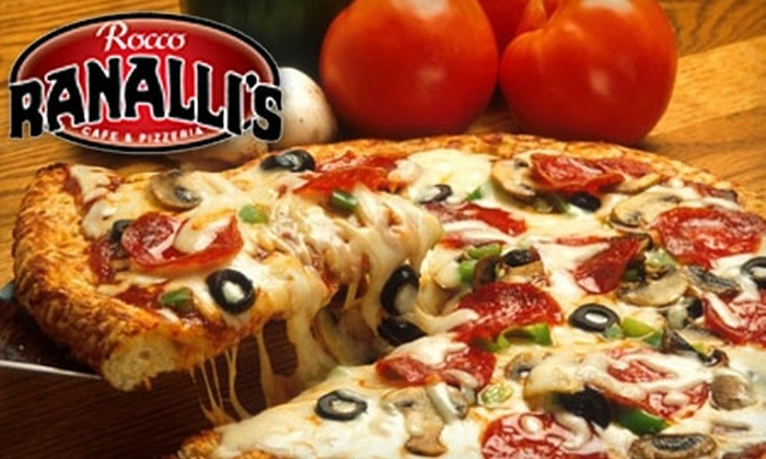Rocco Ranalli's Cafe & Pizzeria  - Near North Side: $10 for $20 Worth of Italian Fare and Drinks at Rocco Ranalli's Cafe & Pizzeria