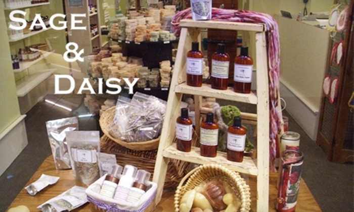 Sage and Daisy - Crown Center: $10 for $20 Worth of Handmade Soaps, Bath, Body, and Herbal Products from Sage and Daisy