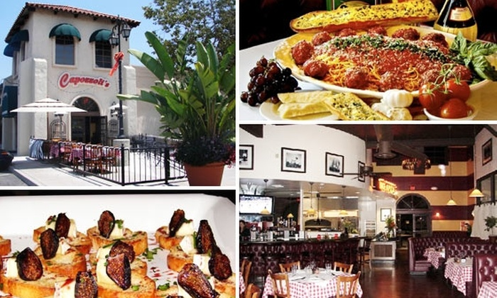 Capozzoli's Pizzeria & Restaurant - San Diego: $20 for $40 Worth Food and Drink at Capozzoli's