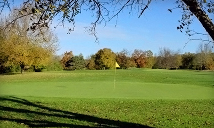 Meridian Sun Golf Club - Haslett: Round of Golf for Two or Four Including Cart and Option for Lunch at Meridian Sun Golf Club in Haslett (Up to 55% Off)