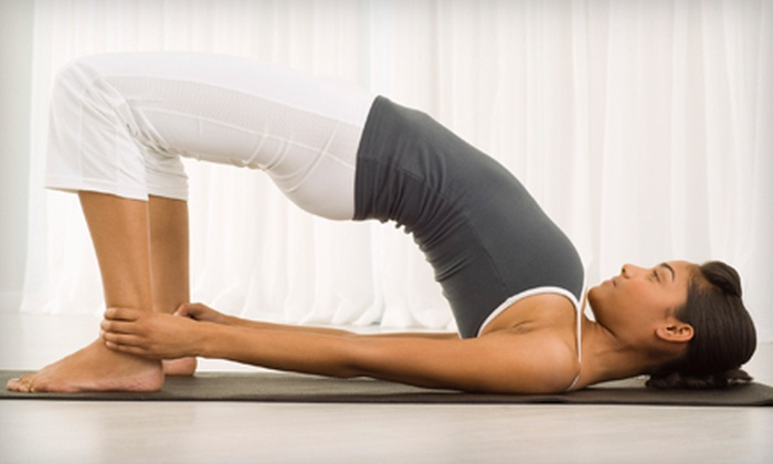 B-More Yoga - Pikesville: 10, 20, or 30 Classes at B-More Yoga in Pikesville (Up to 92% Off)