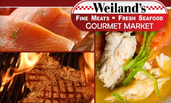 Weiland's Gourmet Market - Central Clintonville: $15 for $30 Worth of Gourmet Groceries at Weiland's Gourmet Market