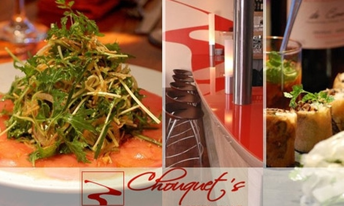 Chouquet's - Pacific Heights: $20 for $45 Worth of Bistro Fare and Drinks at Chouquet's