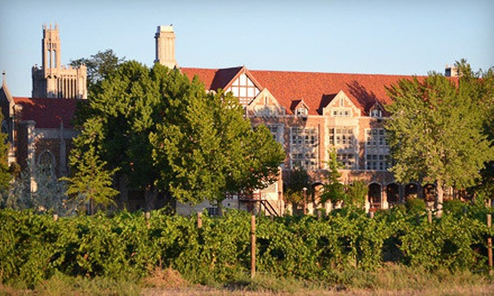 The Winery at Holy Cross Abbey - Cañon City: Private Wine-and-Cheese Tasting for Two, Four, or Eight at The Winery at Holy Cross Abbey in Canon City (Half Off)