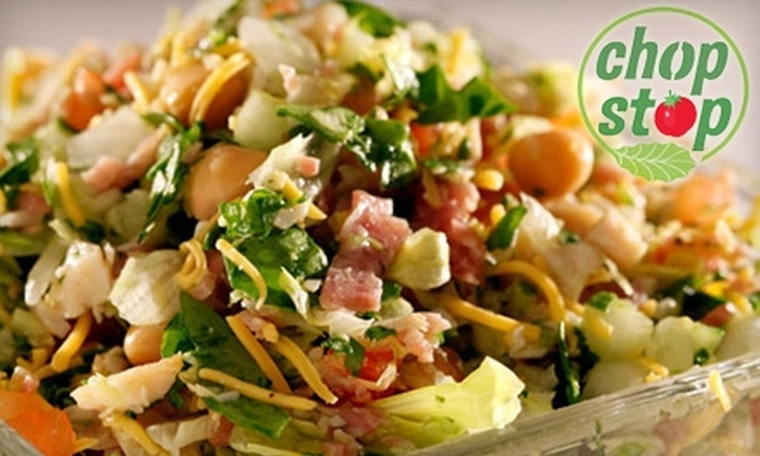 Chop Stop - Burbank: $10 for $20 Worth of Salads, Soups, and Wraps at Chop Stop in Burbank