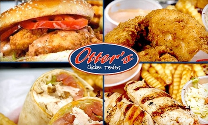 Otter's Chicken Tenders - Multiple Locations: $5 for $10 Worth of Tasty Chicken and More at Otter's Chicken Tenders. Choose One of Four Locations.