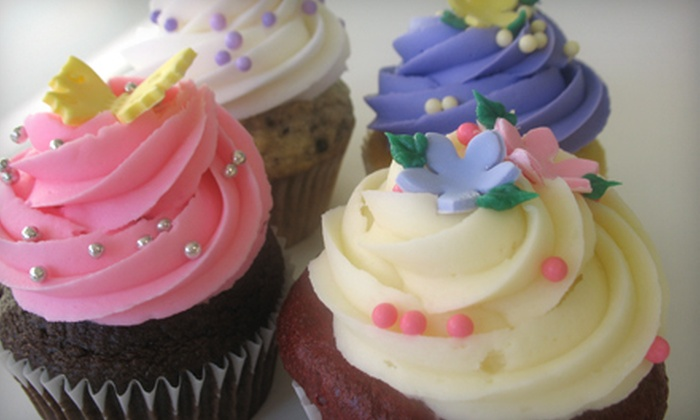 Beautiful Cakes - Jefferson Park: One Dozen Gourmet Cupcakes or an 8-Inch Custom Cake at Beautiful Cakes (Half Off)