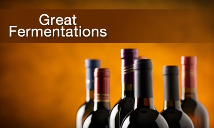 Great Fermentations - Sandwich: $65 For a Winemaking Experience Yielding Up to 30 Bottles of Wine at Great Fermentations