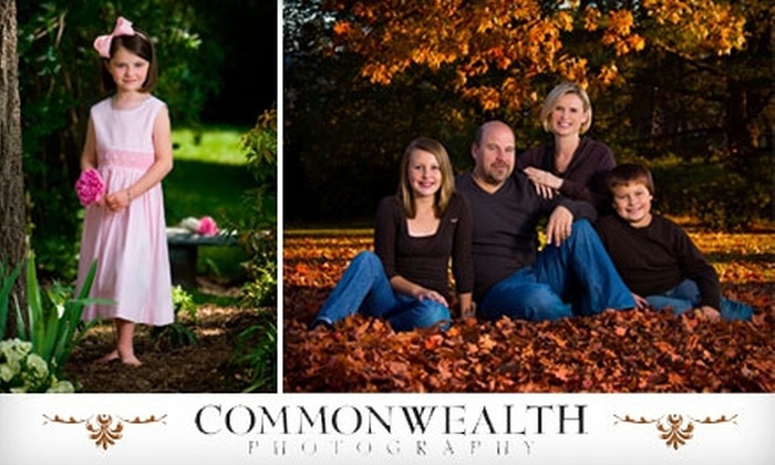 "Commonwealth Photography - Bermuda: $49 for a One-Hour Studio Photography Session, an 11""x14"" Mounted Portrait, and a Disc of Images, Plus 20% Off Additional Prints, at Commonwealth Photography"