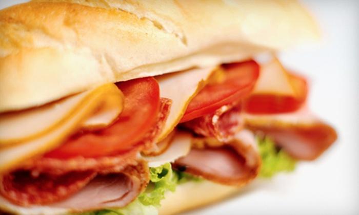 Korner Bistro - Meridian: $7 for Signature or Special Value Sandwich Combos for Two at Korner Bistro ($14 Value)