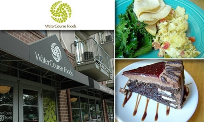 Watercourse Foods - Denver: $15 for $35 Worth of Vegetarian Dinner Delights at Watercourse Foods