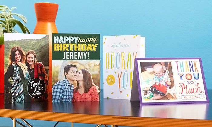 Treat by Shutterfly: Treat Card Club Value Pack Good for 6, 18, or 24 Custom Greeting Cards from Treat by Shutterfly (Up to 66% Off)