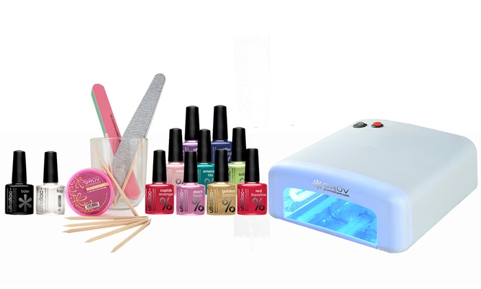 Kit Gmbh professional uv nail kit groupon goods