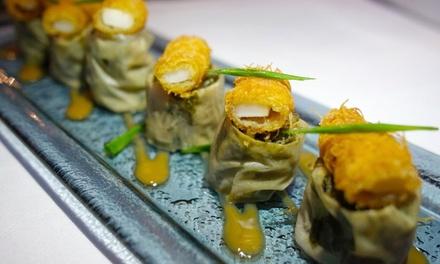 Japanisches 6-Gänge-Tsuki-Menü im Restaurant ULA-kitchen berlin in Mitte für 60 €