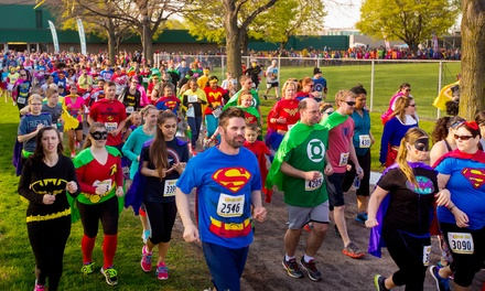 Registration for One or Two for The Super Run (Up to 44% Off)