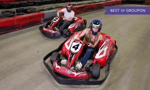 MB2 Raceway: Go-Kart Racing or Birthday Party for Up to 10 at MB2 Raceway (Up to 50% Off). Four Options Available.