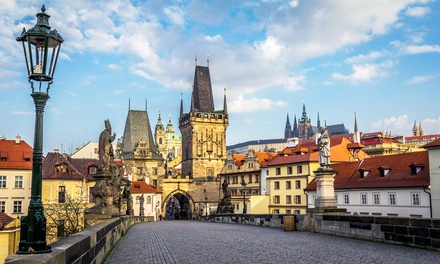 ✈ Prague: Up to 4 Nights with Flights and Breakfast at Hotel Taurus*