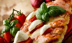 DELICE DOLCE E SALATO: 1 o 2 kg di pizza o focaccia farcita oppure 1 kg di gastronomia a scelta tra primi e secondi