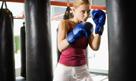 Three Weeks of Unlimited Kickboxing and Strength Training with Optional Gloves (75% Off)