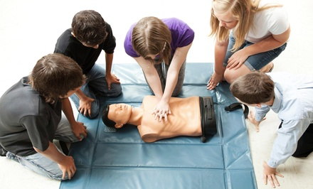$99 for $275 Worth of CPR and FirstAid Certification Classes  Disaster Medical Response Systems