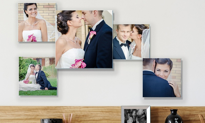 Personalized Photo to Acrylic Glass Collage from Pixtac: 3-, 5-, or 8-Piece Personalized Photo to Acrylic Glass Collage from Pixtac; $39.99–$129.99