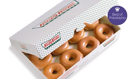$10 for Two Dozen Original Glazed Doughnuts at Krispy Kreme ($17.98 Value)