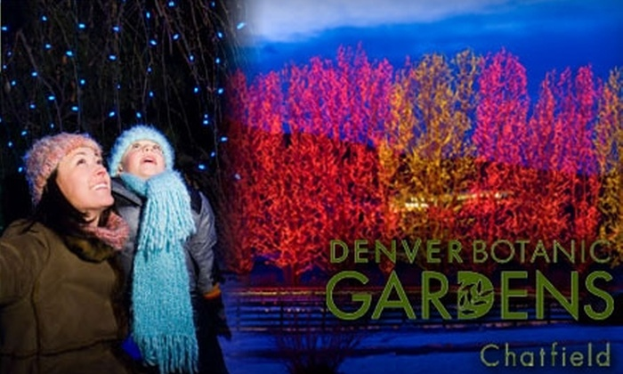 Denver Botanic Gardens - South Jefferson: $10 for Two Tickets to the Trail of Lights at the Denver Botanic Gardens at Chatfield (Up to $19 Value)