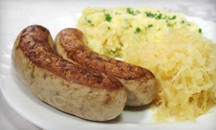 Bavarian Garden - Williamsburg: $15 for $30 Worth of Authentic German Cuisine at Bavarian Garden in Williamsburg