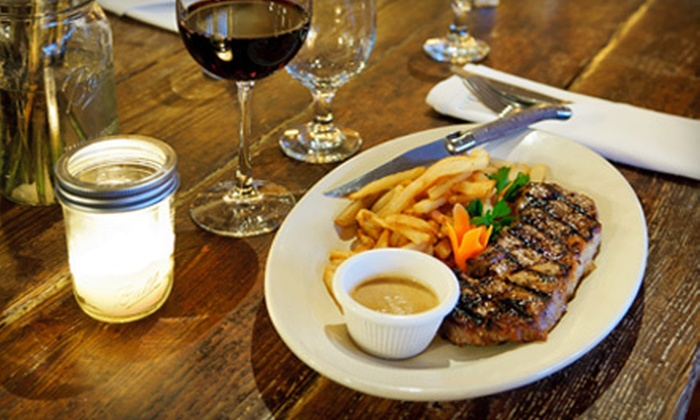 Chez Jacqueline - Greenwich Village: $69 for a Three-Course Bistro Dinner for Two with a Bottle of Wine at Chez Jacqueline (Up to $179 Value)