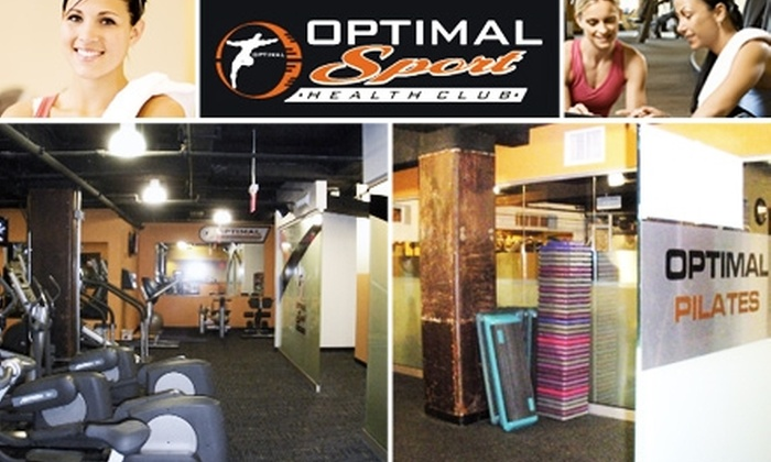 Optimal Sport Health Club - Westampton: $29 for Personal Training Session and Month Membership at Optimal Sport Health Club