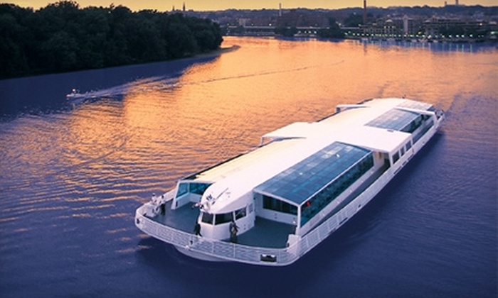 Odyssey Cruises - Southwest Washington: Three-Hour Dinner Cruise from Odyssey Cruises. Two Options Available.