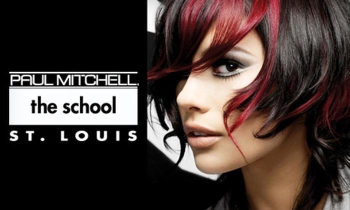 Paul Mitchell The School St. Louis - St Louis: $30 for $65 Worth of Services at Paul Mitchell the School St. Louis