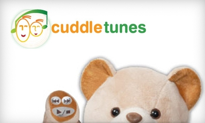 Cuddletunes: $30 for a Personalized Talking Teddy Bear from Cuddletunes ($60 Value)