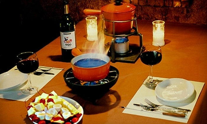Geja's Cafe - Lincoln Park: $25 for $60 Worth of Fondue and Fine Wine Monday through Thursday or $25 for $50 Friday through Sunday at Geja's Cafe