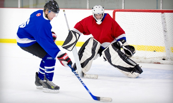 Ice Center Hockey League - West Eugene: One-Day Drop-In, Six- or Nine-Week Beginner Hockey Clinics at Ice Center Hockey League