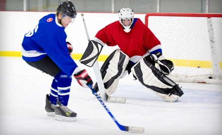 1 Drop-In Hockey-Clinic Pass (a $12 value) - Ice Center Hockey League in Eugene