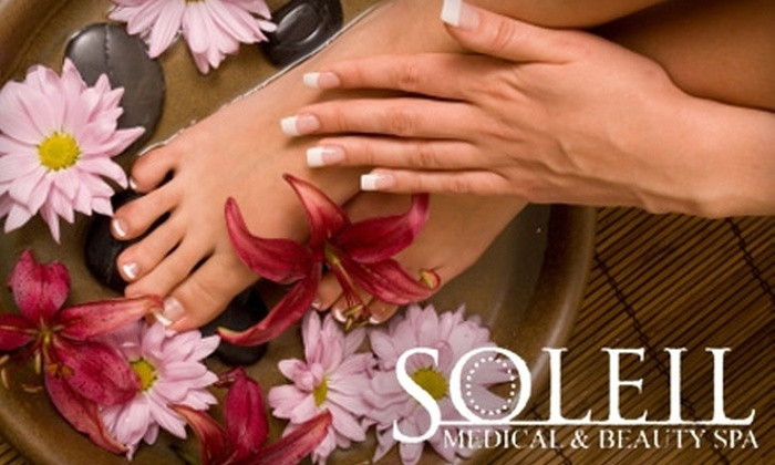 Soleil Medical & Beauty Spa - Multnomah: $35 for Spa Mani-Pedi at Soleil Medical & Beauty Spa ($70 Value)