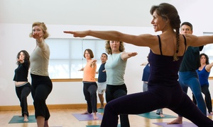 Simplicity Yoga Studio: 10 or 20 Yoga Classes at Simplicity Yoga Studio (Up to 66% Off)