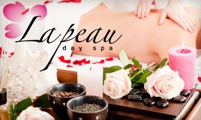 La Peau Day Spa - Chinatown: Skincare and Massage Treatments at La Peau Day Spa. Three Options Available.
